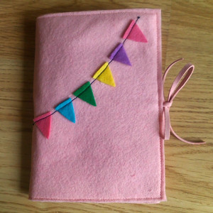 Pretty Pastel Journal Cover Favequilts Com
