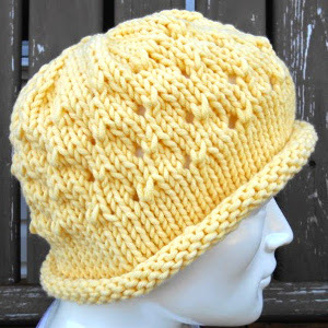 The No-Purl Peek-a-Boo Hat is a wonderful knitting-for-beginners project  that gets its pleasant pattern from fundamental ... 96cd7e65c44