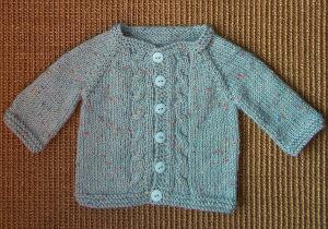 1fa2fd696 Max Knit Baby Cardigan