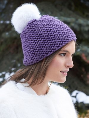 Beginner s Garter Stitch Hat  2451c066288