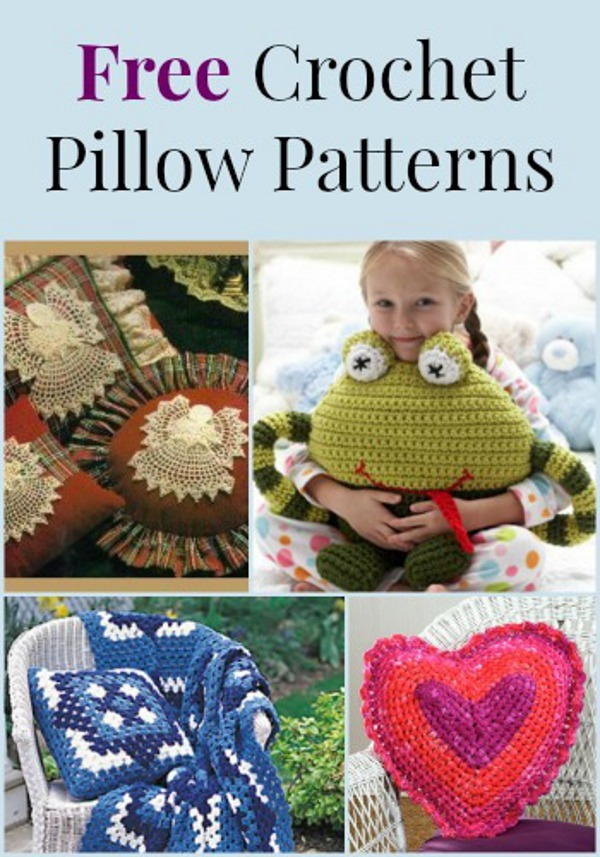 Beginner Crochet Pillow Patterns : 10 Free Crochet Pillow Patterns FaveCrafts.com