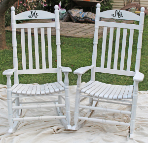 Diy Personalized Rocking Chairs Favecrafts Com