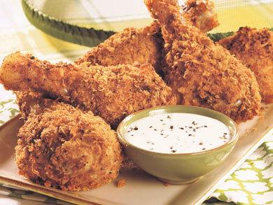 Recipe for fried chicken drumsticks