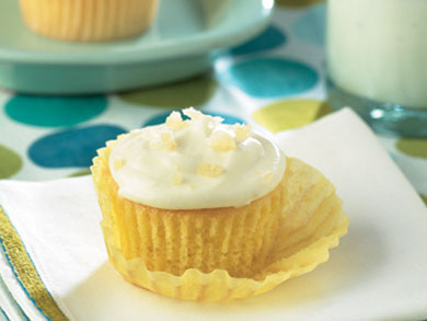 Gingered Lemon Cupcakes