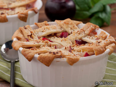 Orchard Plum Cobbler
