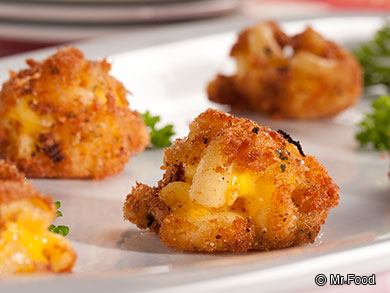 Fried Mac 'n' Cheese Balls