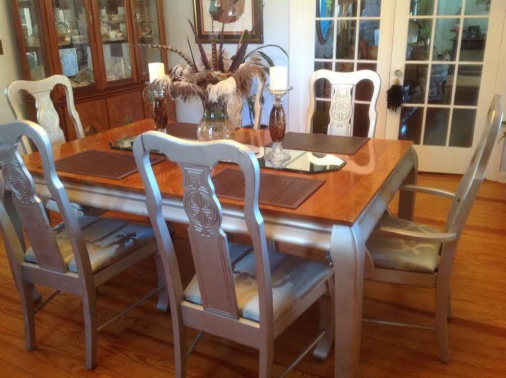 pottery barn inspired dining room set. Black Bedroom Furniture Sets. Home Design Ideas