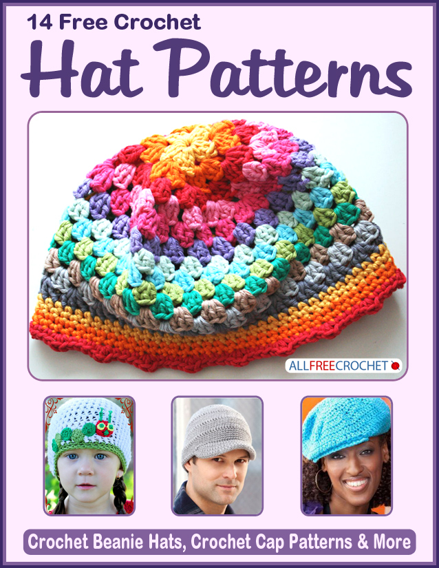 14 Free Crochet Hat Patterns Allfreecrochet