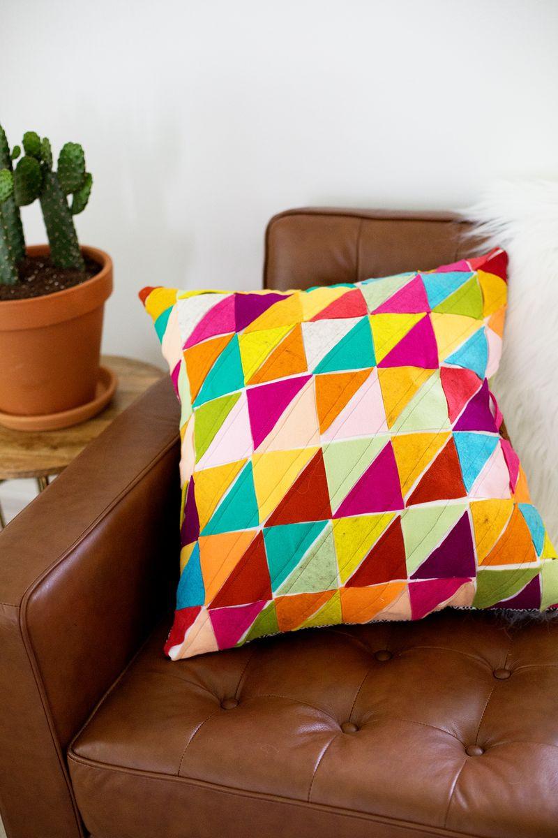 Southwest Sun Diy Pillow Pattern Allfreesewing Com