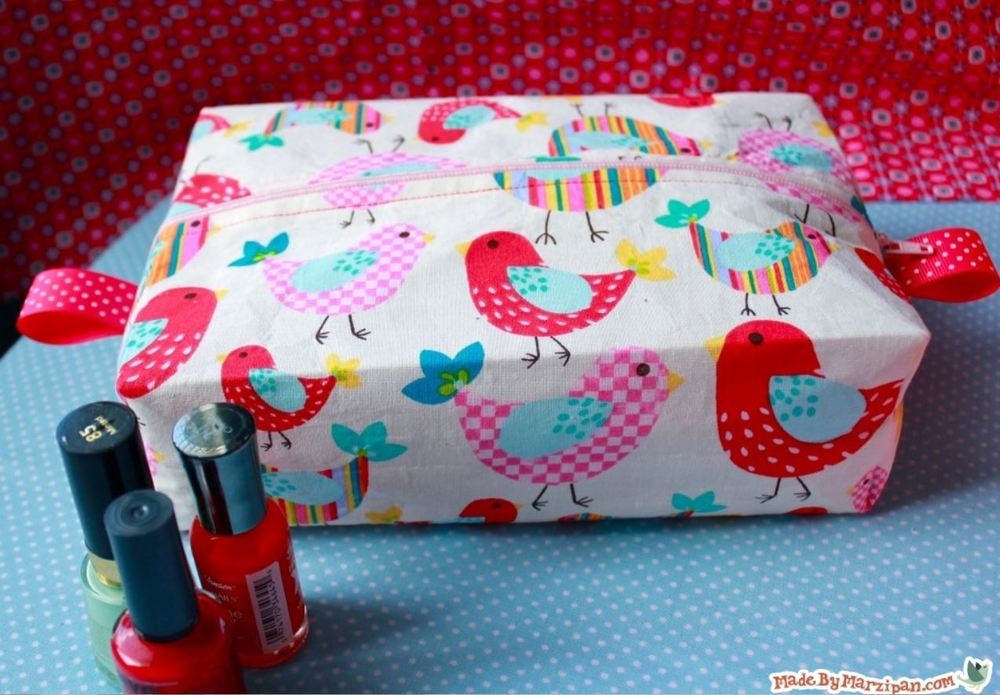 Boxy Cosmetic Bag Tutorial Allfreesewing Com