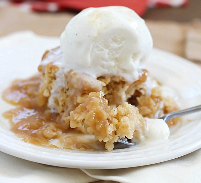 Bisquick Caramel Apple Cake Recipe