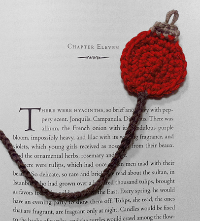 Crochet Mini Ornament Bookmark