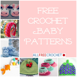 22 Free Crochet Baby Patterns + Free Bonus eBook