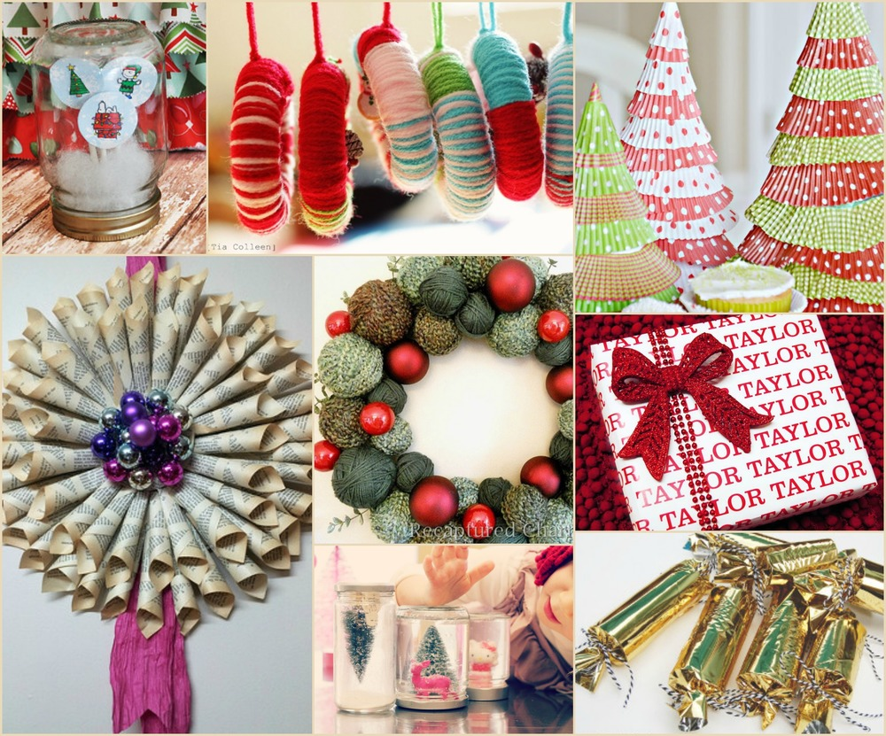 200 easy christmas crafts for the holidays for Christmas crafts to make