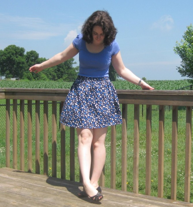 Elastic Waistband Skirt Allfreesewing Com
