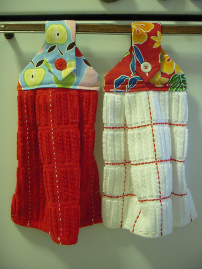Hanging Dishtowels