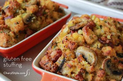 Gluten Free Cornbread Stuffing | FaveGlutenFreeRecipes.com