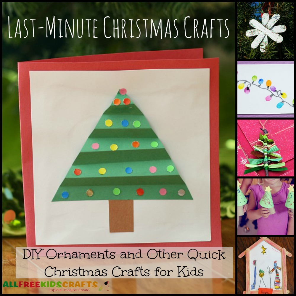 Last-Minute Christmas Crafts: 20 DIY Ornaments and Other ...