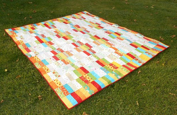 In N Out Jelly Roll Quilt Favequilts Com