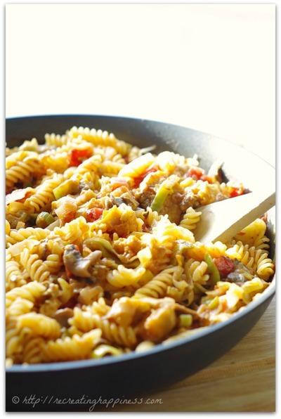 Roasted Eggplant Pasta | FaveGlutenFreeRecipes.com