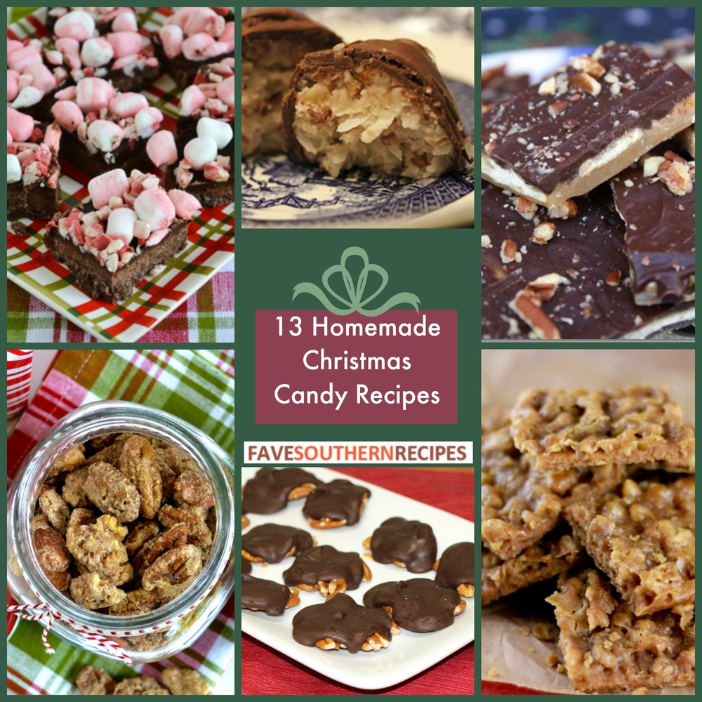 13 homemade christmas candy recipes