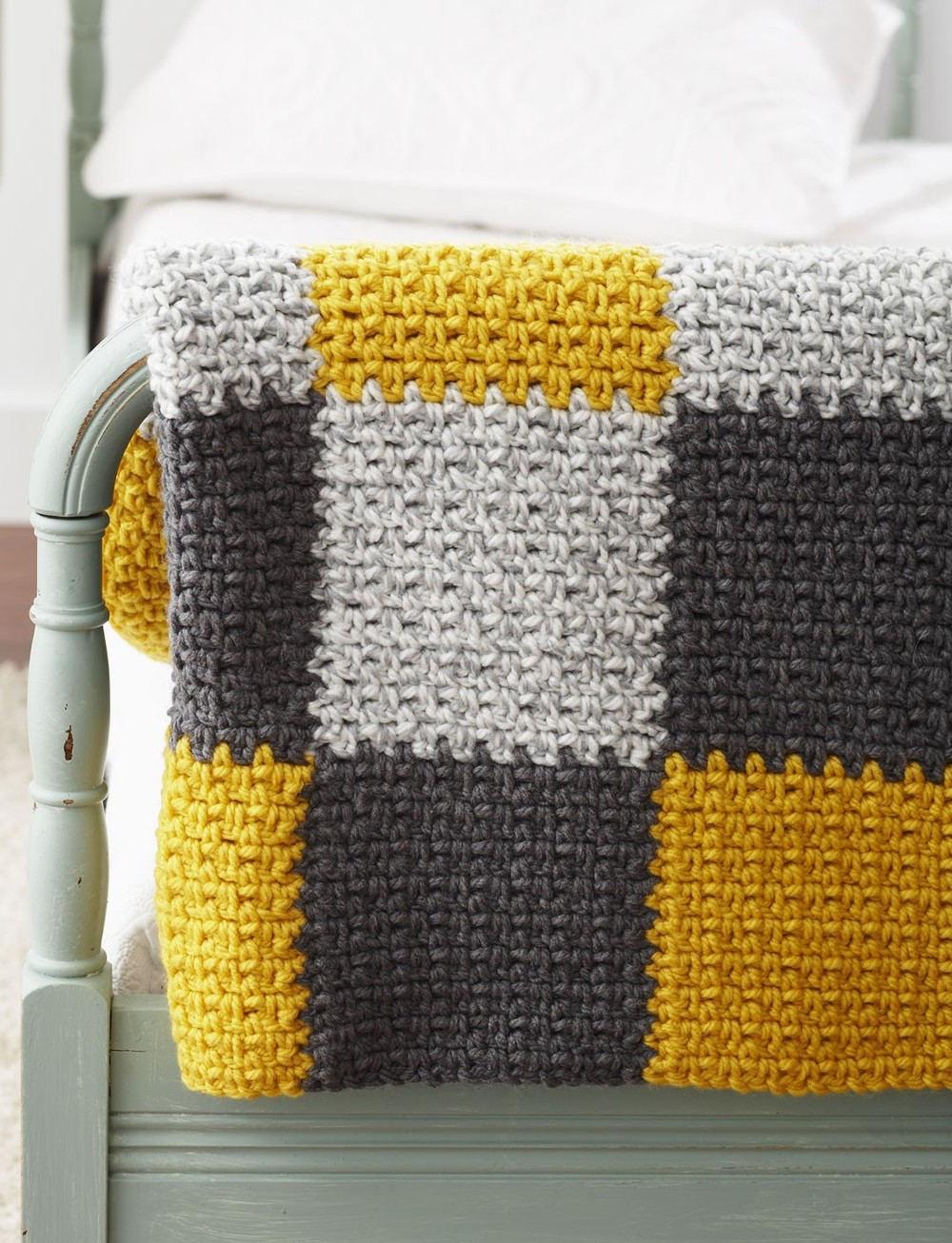 Stellar Patchwork Crochet Blanket Allfreecrochetafghanpatterns