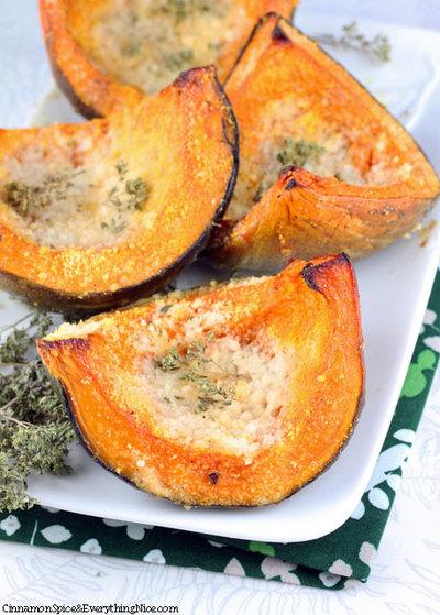 Parmesan Roasted Squash Wedges | RecipeLion.com