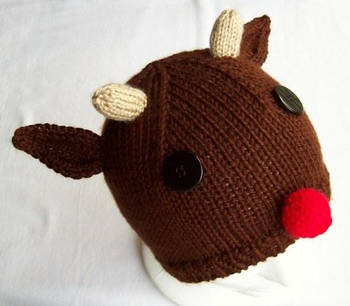 Kids Knit Santa Hat | AllFreeHolidayCrafts.com