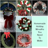 26 Homemade Holiday Wreaths