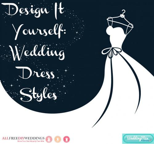 Devastatingly Gorgeous Hand-Painted DIY Wedding Dress