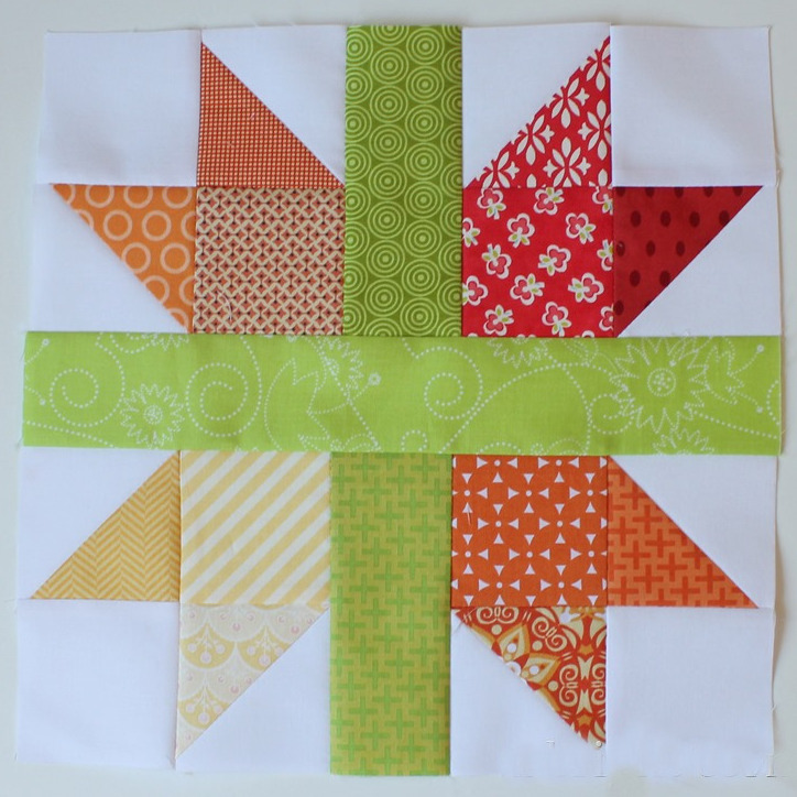 New England Cross Star Block Favequilts Com