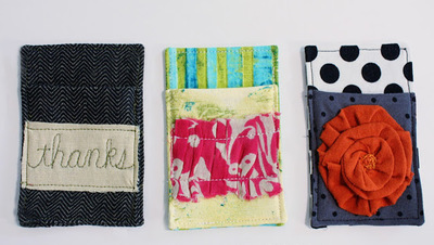 Funky Gift Card Cozies