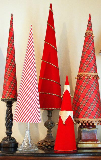 Elegant christmas tree cones for Diy elegant christmas decorations