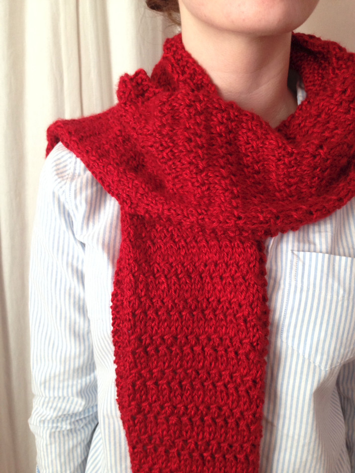 Thousand Mile Journey Scarf AllFreeKnitting.com