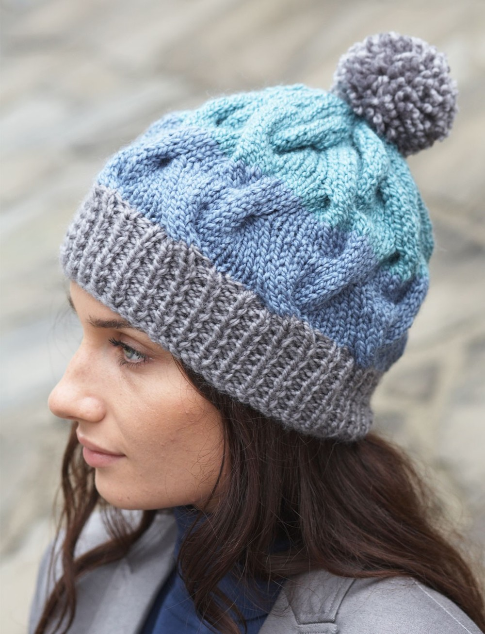 Cable Crush Winter Hat  4dffc490481