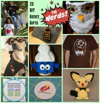 23 DIY Geeky Gifts for Nerds
