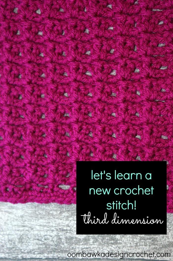 Third Dimension Crochet Stitch Allfreecrochet Com