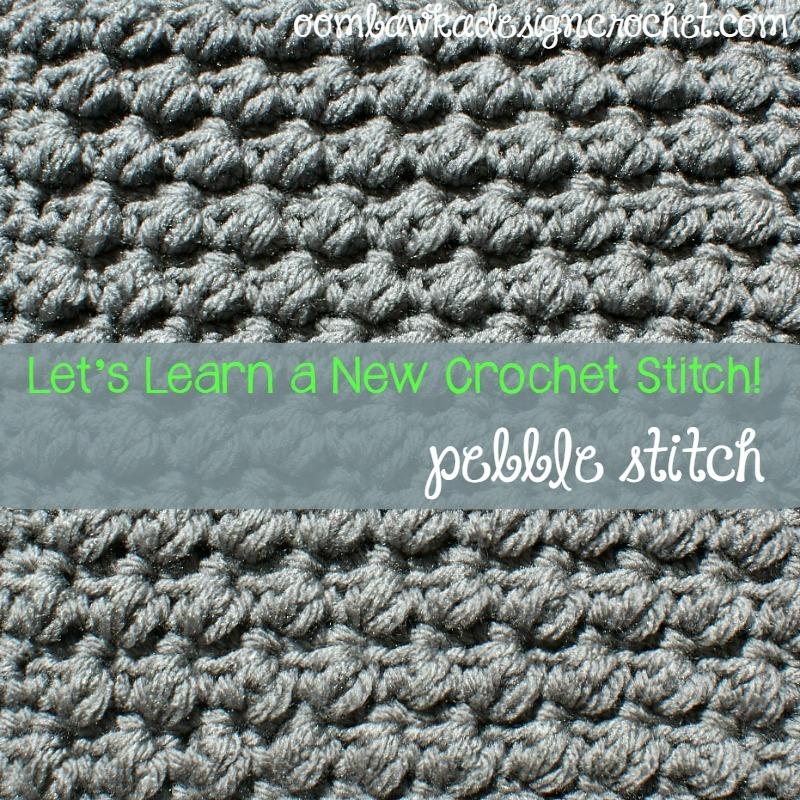Pretty Pebble Stitch Allfreecrochet Com
