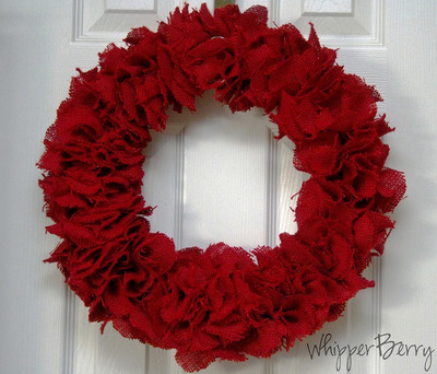 Ruffles of Romance Wreath