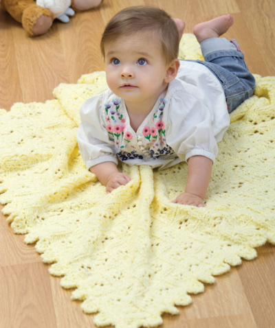 Xoxo Baby Blanket Knitting Pattern : XOXO Hugs and Kisses Cable Baby Blanket AllFreeKnitting.com