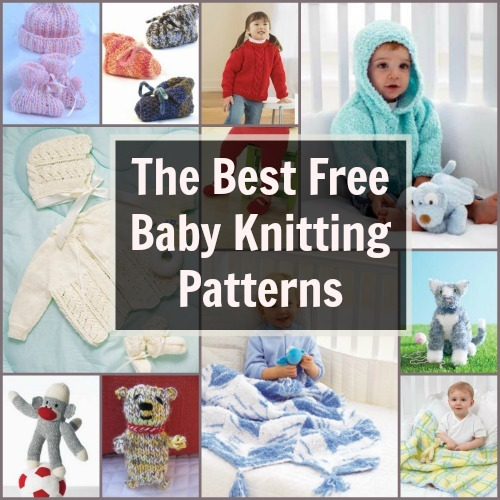 Knitting In The Round Baby Patterns : 39 Free Baby Knitting Patterns FaveCrafts.com
