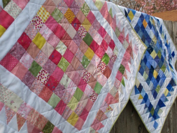 Homemade country christmas decorations - Hundred Hugs Baby Quilt Favequilts Com