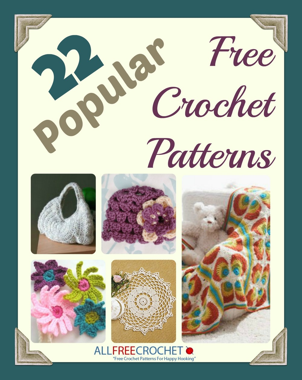 22 Popular Free Crochet Patterns Ebook Allfreecrochet Com