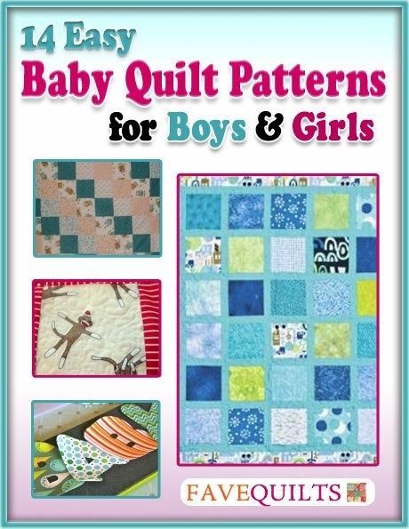 Quot 14 Easy Baby Quilt Patterns For Boys And Girls