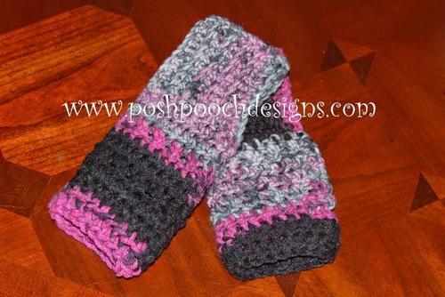 how to make crochet fingerless gloves easy