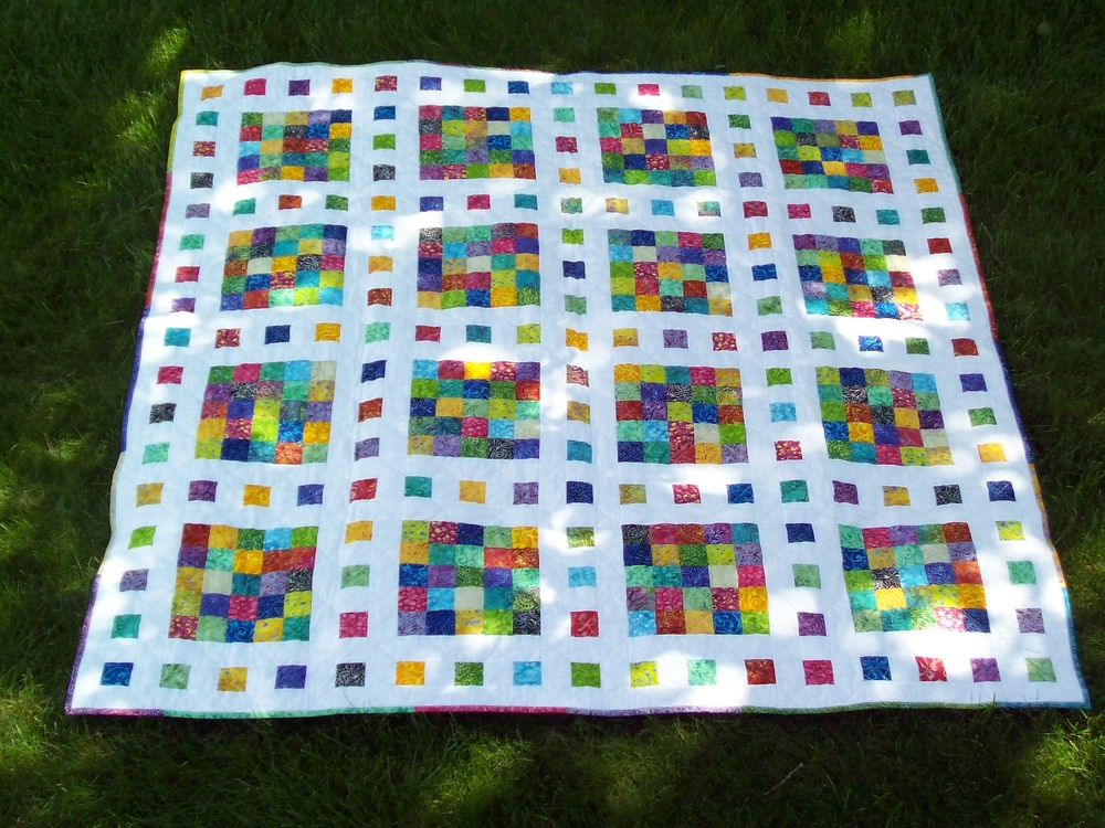 Film at five scrap quilt pattern for How to make a quilt template