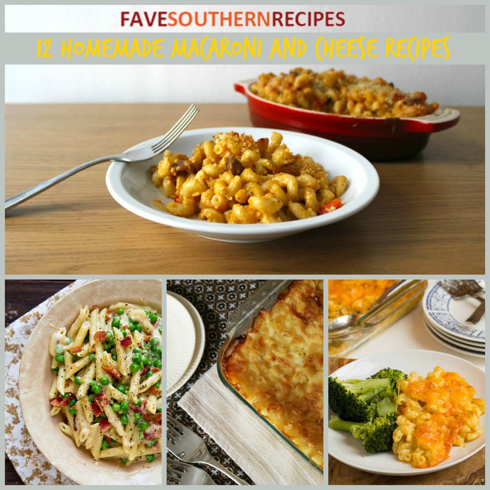 Southern Comfort Food: 12 Homemade Macaroni and Cheese Recipes