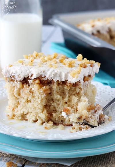 Baklava Poke Cake Recipe