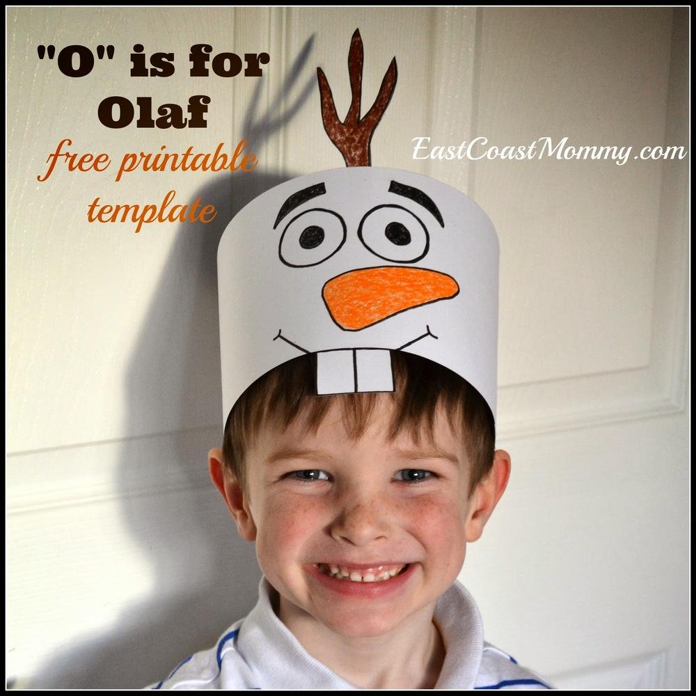 Free Printable Olaf Hats Allfreekidscrafts Com