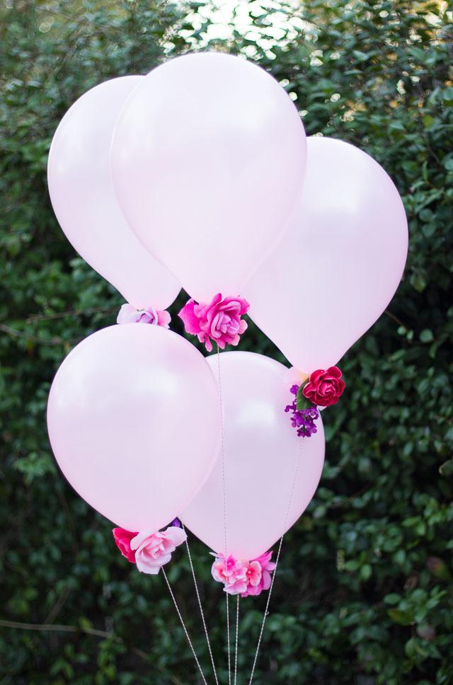 Flower Balloon Bouquet